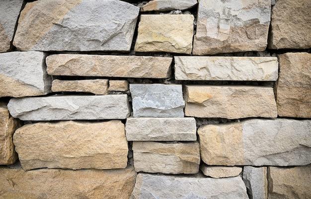 天然石の壁のテクスチャ、背景。高品質の写真