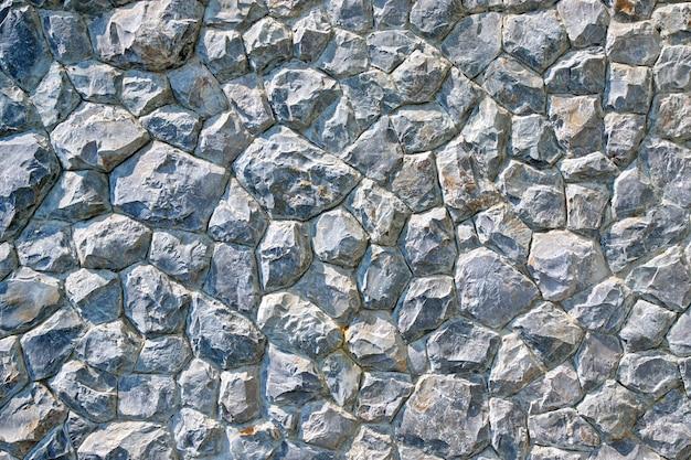 Текстурированная стена из натурального камня