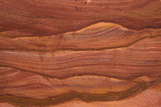 Естественная текстура красных скал. цветной каньон, египет, синайский полуостров.
