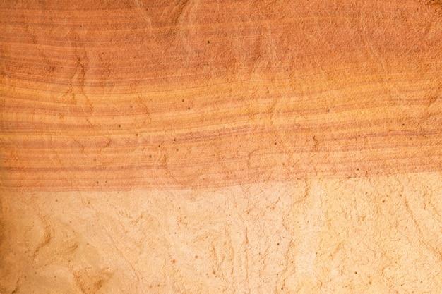 赤い岩の自然な風合い。着色された峡谷、エジプト、シナイ半島。