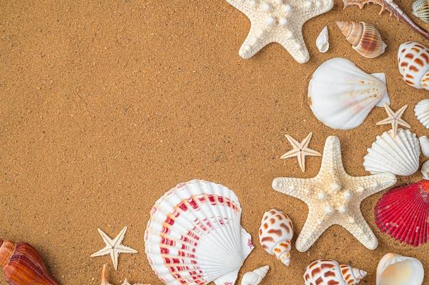コピーするスペースのある自然な質感の砂の表面