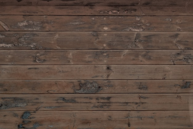 Natural unpainted wood planks horizontal, wooden wall texture