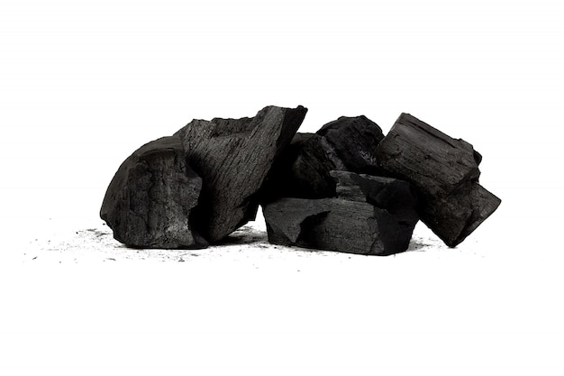 Natural wood charcoal bamboo charcoal powder has medicinal properties with traditional charcoal
