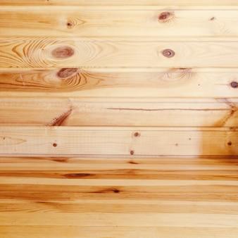 천연 나무 벽 안감 질감 배경입니다.