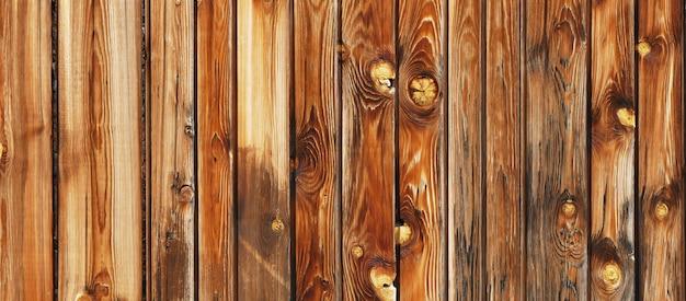 Панорамный фон из натуральных деревянных досок