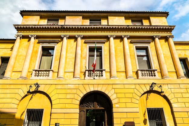 Naturalistic and archaeological museum of santa corona in vicenza, italy