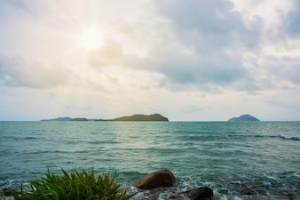 自然に美しい海の景色