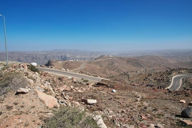 ヒジャーズ山脈の自然サウジアラビア