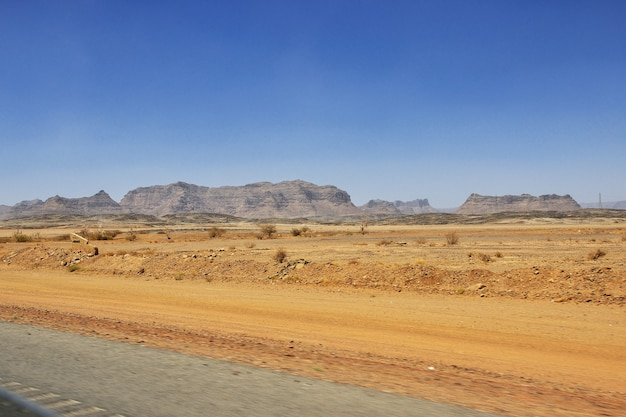 Природа гор региона асир в саудовской аравии