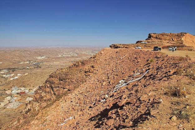 山の自然サウジアラビア