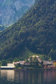 Стена завода природы, концепция здания природы