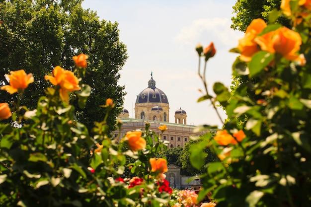 Naturhistorisches museumドーム、ウィーン