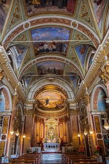 이탈리아 리비에라의 라팔로 언덕에 있는 몬탈레그로 성모 성역 본당