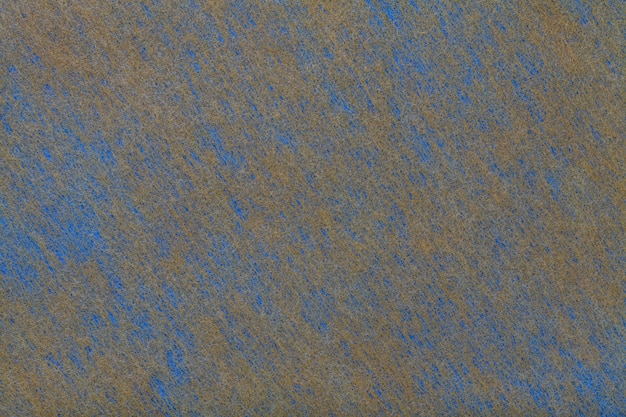 Navy blue and brown background of felt fabric