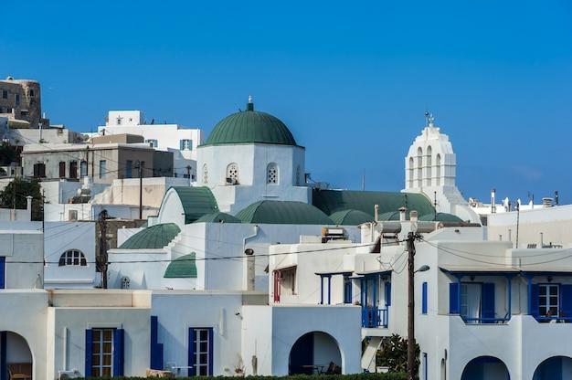 Naxos hora in greece