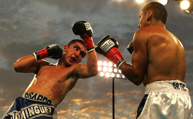 uppercut boxing ricardo box match dominguez