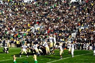 Nd football game