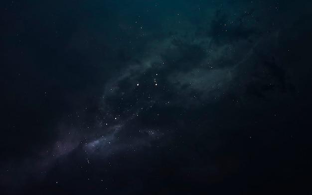 Nebula, красивые фантастические обои с бесконечным глубоким космосом. элементы этого изображения, предоставленные наса