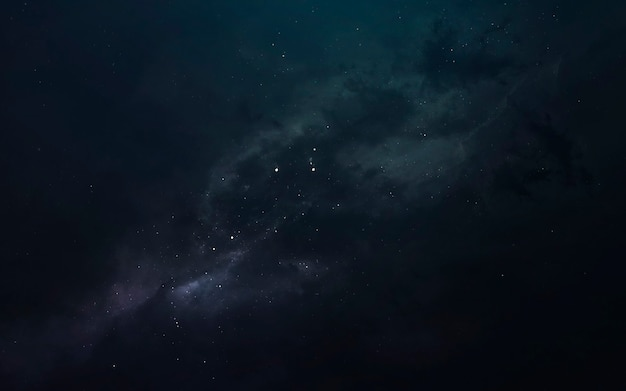 Nebula, beautiful science fiction wallpaper with endless deep space. elements of this image furnished by nasa