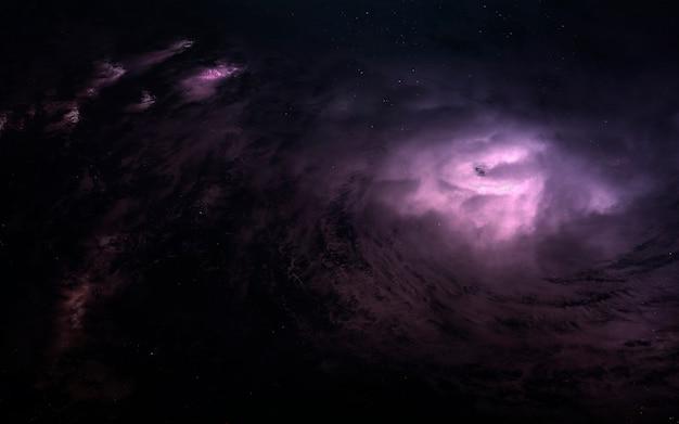 Nebula in space