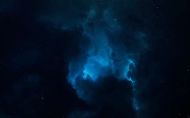 Nebula in space
