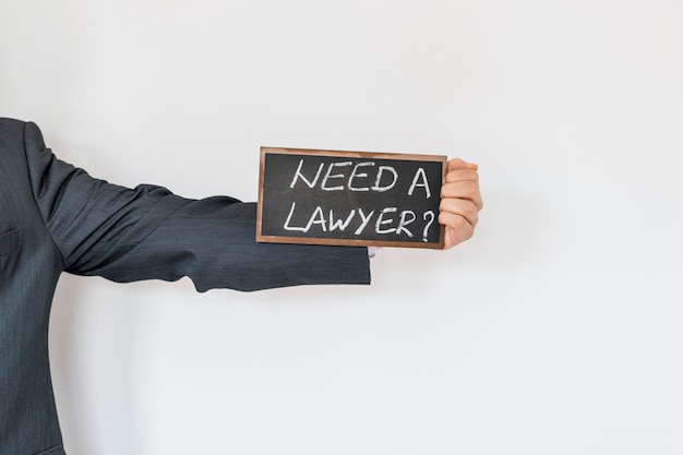 Need a lawyer advertisement