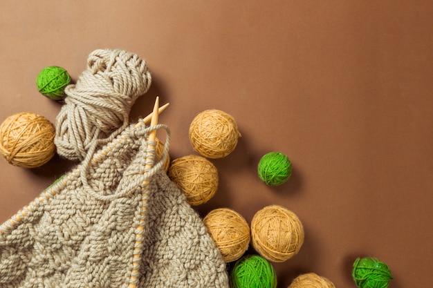 Needlework concept