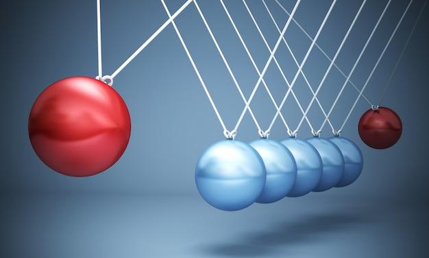 Negative power balls