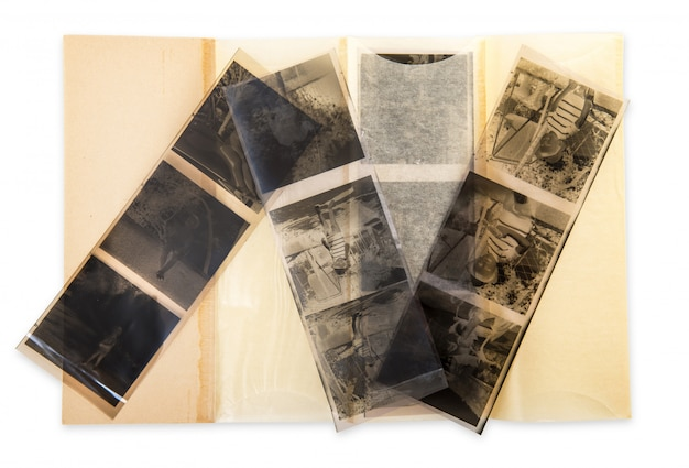 Negatives by photographic film