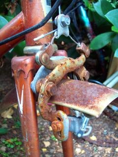 Neglected 1970s healing 10 speed cycle f, cycle