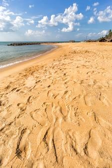 Negombo beach, sri lanka