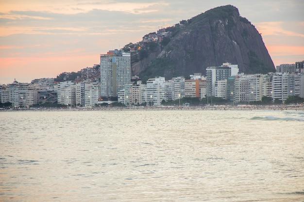 Neighborhood of copacabana in rio de janeiro