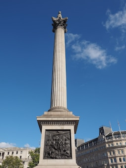 ロンドンのネルソン記念柱