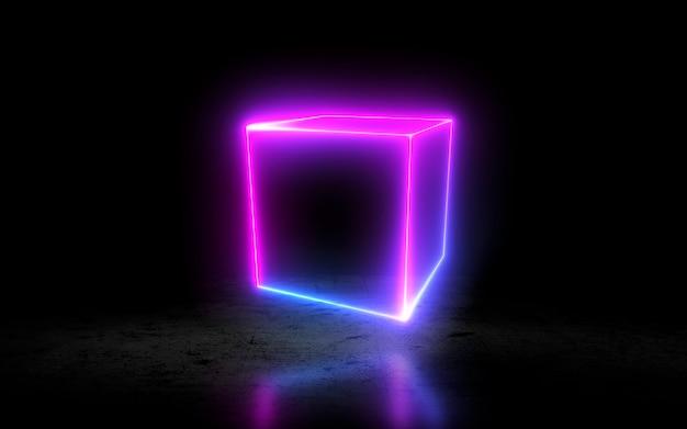 네온 큐브