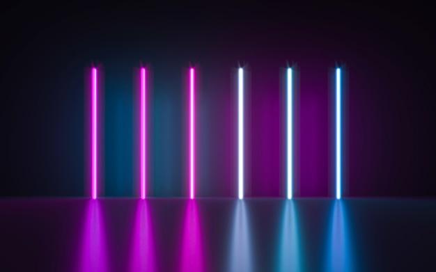 Neon lights background
