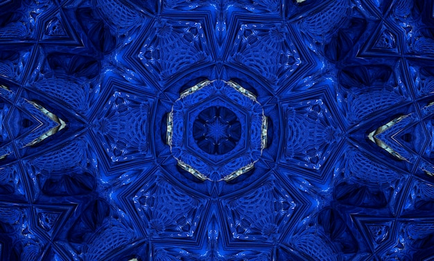 青のテクスチャ背景にネオンの形。グラデーションカラーの背景デザイン。未来的なデザインのポスター。ネオンの輝くテクノライン、青いハイテク未来的な抽象的な背景テンプレート。