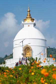 네팔 평화 탑