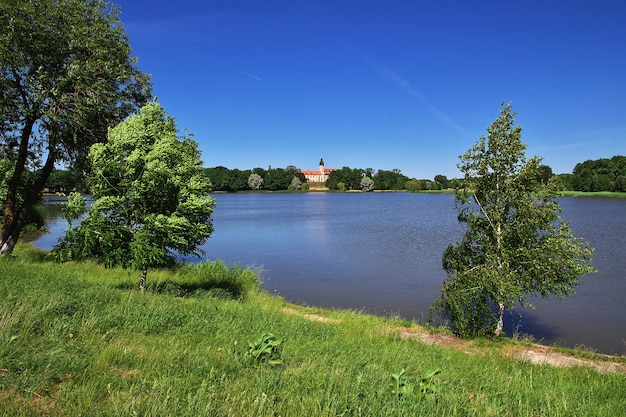 Nesvizh castle in belarus country