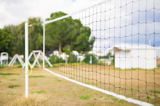 Net for the game of volleyball