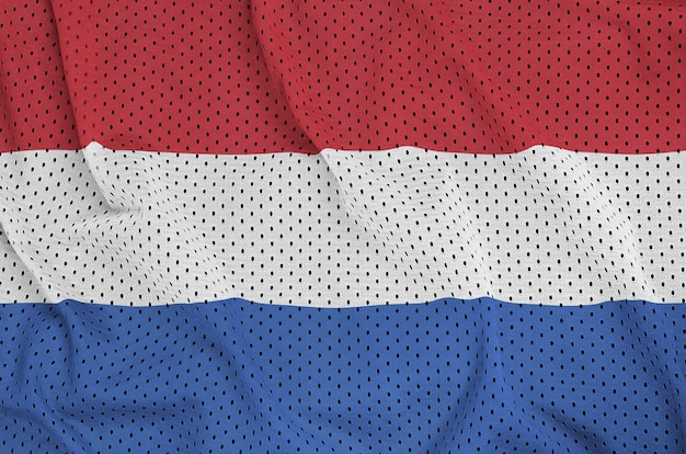 Netherlands flag printed on a polyester nylon mesh