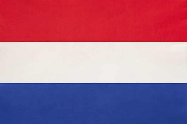 オランダの国旗のテキスタイル