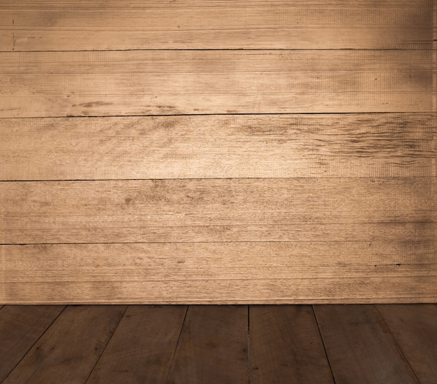 Netural木製テクスチャ床壁の背景