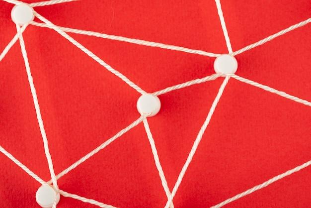 Concetto di rete piatta
