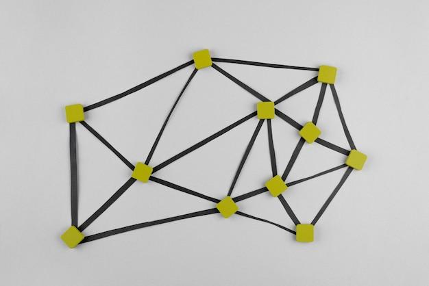 正方形のネットワークの概念