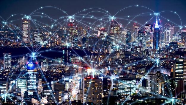 도시 미래 디자인의 네트워크