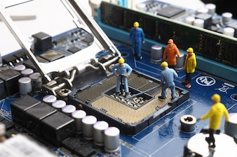 Network mainboard service toy broadcasting