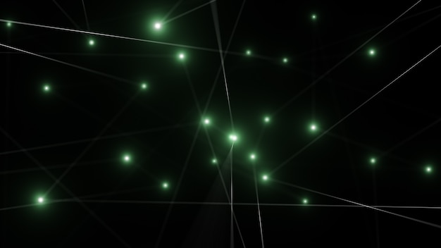 Network technology abstract line background