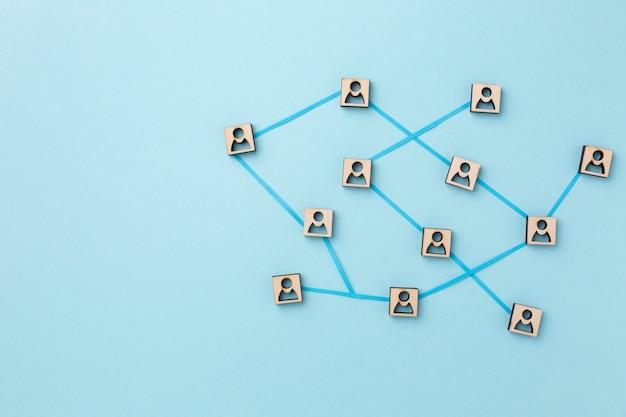 네트워킹 개념 정물 구색