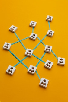 Networking concept still life composition Free Photo