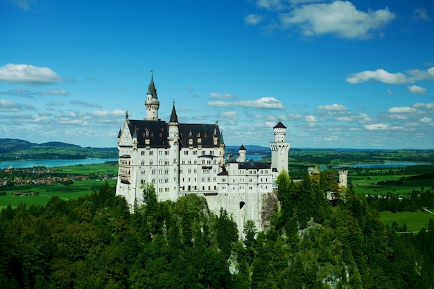 Замок нойшванштайн, бавария, германия